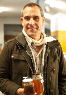Rodger with his winning honey 2014